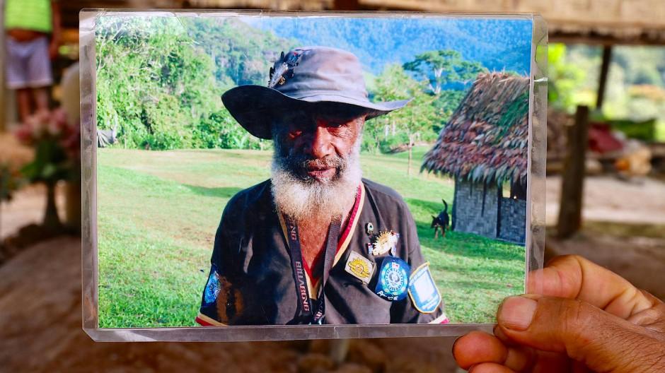 Das Foto zeigt Faole Bokoi, der im März 2016 starb.