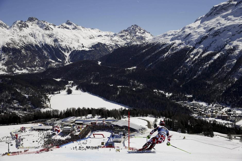 Ski-Weltmeisterschaften in St. Moritz: Schön, dass junge Sportler für ein paar Tage gute Stimmung machen.