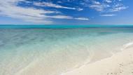 Oder einfach mal nichts denken: Strand am Ningaloo Reef.