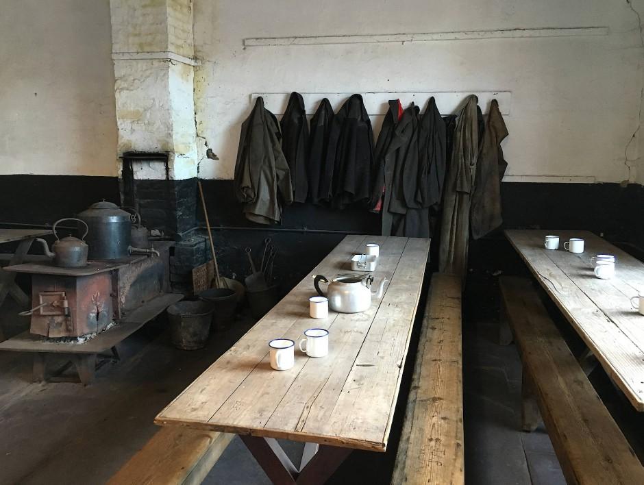 Als wären die Arbeiter eben gegangen: Schiefermuseum am Dinorwig-Steinbruch
