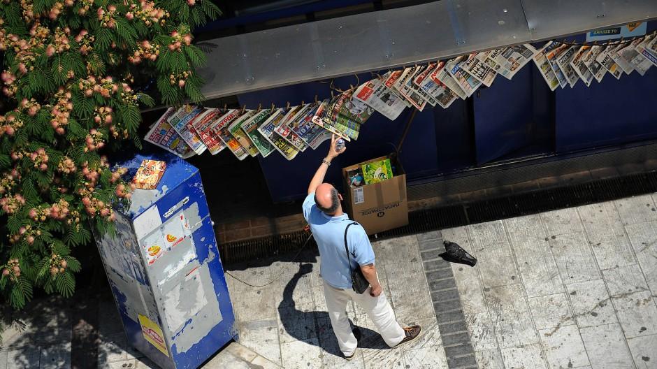 Kiosksterben in Griechenland: Hier bricht mehr als nur günstige Nahversorgung weg.