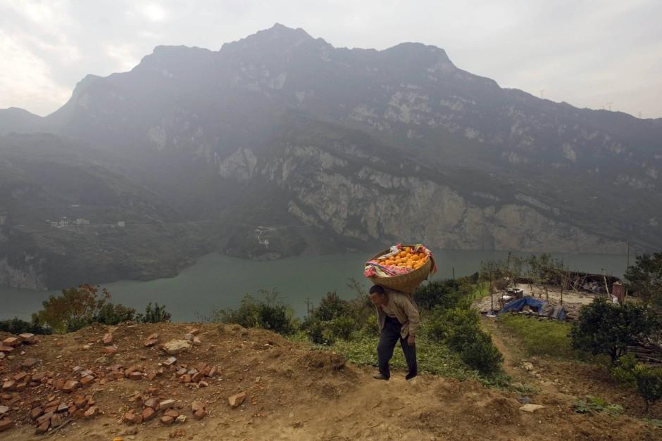 Das China des Turbokapitalismus ist nur das eine Gesicht des Landes. Das andere sieht man in den ländlichen Gebieten entlang der Jangtse-Ufer.