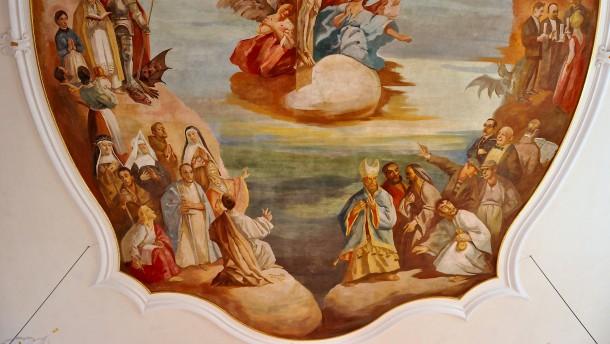 Nur rechts vom Herrn gehts in den Himmel