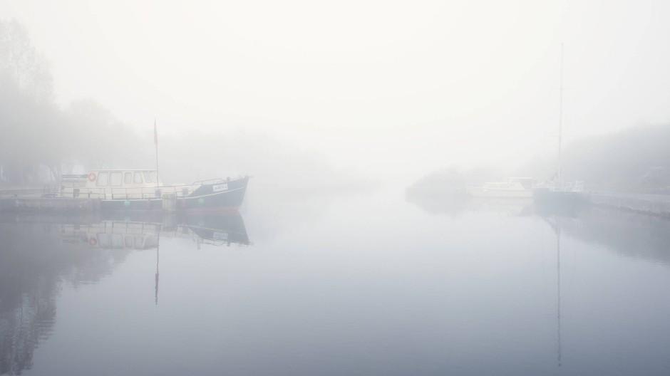 Auf gutes Wetter wartet man hier vergeblich: Portumna im County Galway