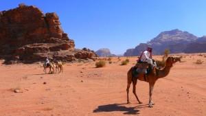 Begrüßungstee im Land der Beduinen