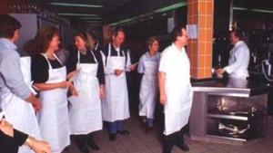 Hobby-Köche gehen in die Lehre bei Hauben-Künstlern