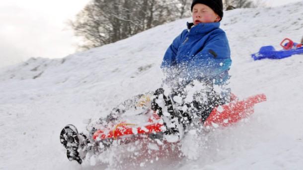 Der Winter ist nicht nur zum Skifahren da