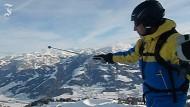 Das Alpenpanorama auf der Hohen Salve