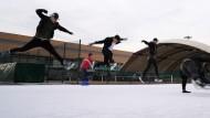 Freestyle auf dem Eis