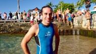 Endlich auf Hawaii: Am Samstag zählt es für Thomas Pignede.