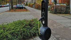 """""""Apple der Ladesäulen"""" will Frankfurt ausstatten"""