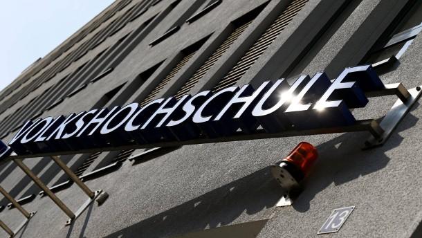 Führungskrise in der Frankfurter Volkshochschule