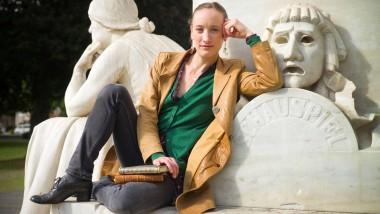 Das Theater hinter sich, die Bücher vor sich - aber Tänzerin wird sie im Kopf wohl immer bleiben: Fione Rettenberger