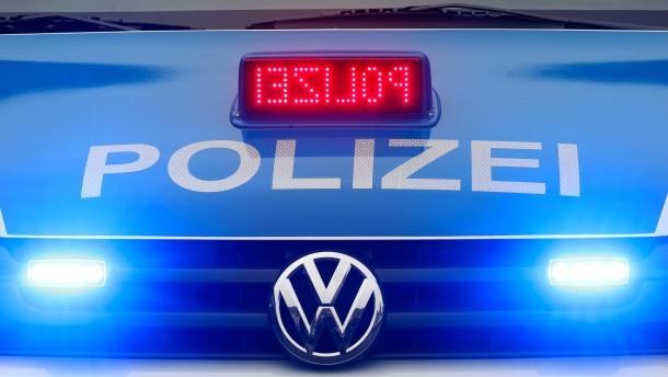 Schreckschüsse vor Flüchtlingsheim in Südhessen