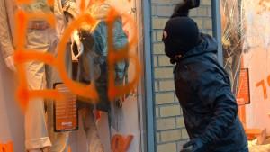 Demonstrant bekommt Bewährungsstrafe