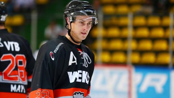 EishockeyOberliga West/ Testspiel /  LOEWEN FRANKFURT -  Ruijters Eaters Geleen