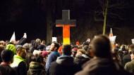Pegida in Sachsen: Etwa 15.000 Teilnehmer demonstrierten am vergangenen Montag in Dresden.
