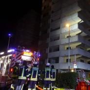 Feuerwehr im Einsatz: Bei einem Brand in Liederbach sind zwei Menschen verletzt worden