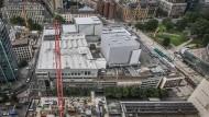Der Willy-Brandt-Platz ist derzeit der Standort für fast alles, was mit den Städtischen Bühnen zu tun hat. Das soll im Wesentlichen auch so bleiben.