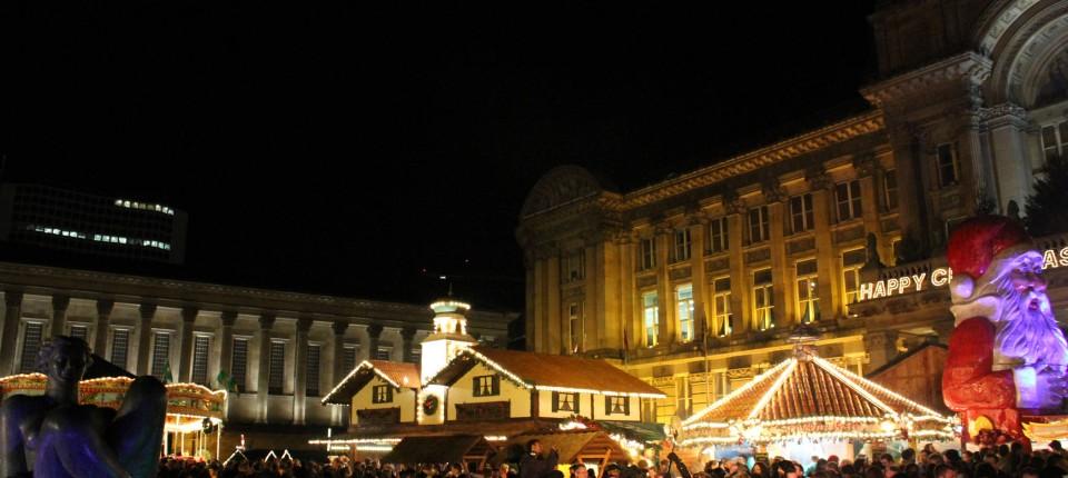 Weihnachtsmarkt Frankenberg.Deutscher Weihnachtsmarkt In England Birmingham Hello Rhein