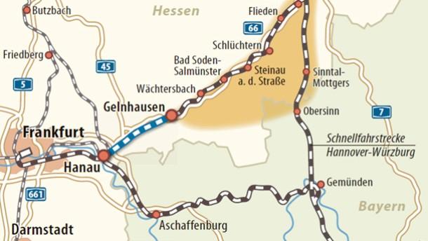 Strecke nach Fulda als Jahrhundertprojekt