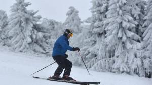 Ski und Rodel auf Hessens Höhen sehr gut