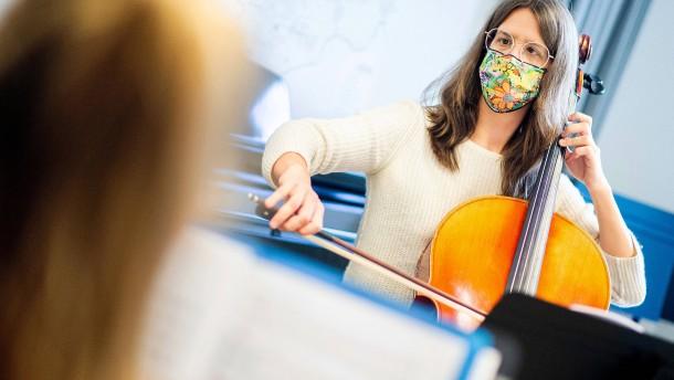 Hessen lockert Corona-Beschränkungen für Sport und Musikschulen