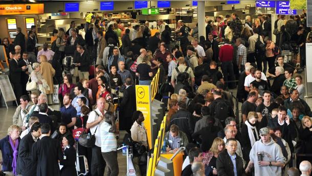 Betrieb am Frankfurter Airport weitgehend normal