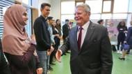 Gauck nimmt Einwanderer in die Pflicht: Haltung zählt
