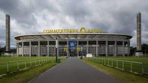 Commerzbank-Arena im Frankfurter Wald