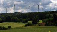 Überragend: Der Windpark in der Untertaunusgemeinde Heidenrod