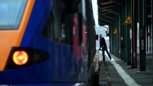 Streik bei Cantus-Bahn auch am Wochenende