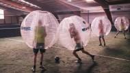 Kicken mit Knautschzone