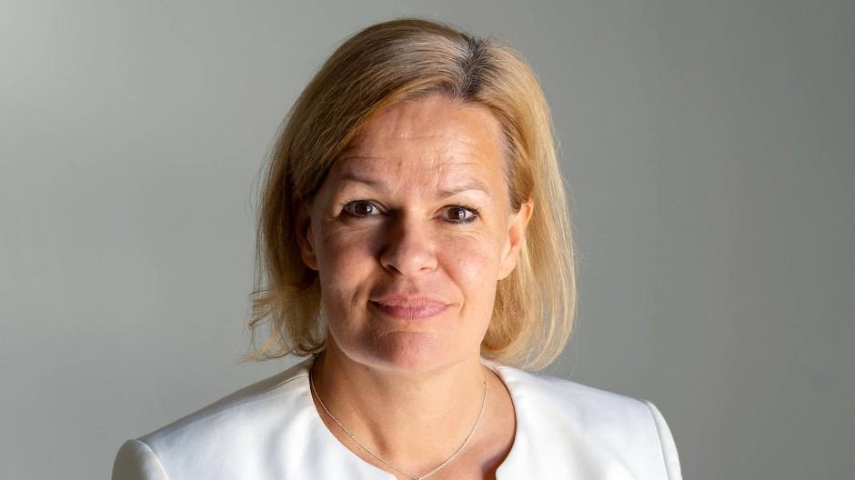 Neue Chefin der Hessen-SPD: Nancy Faeser