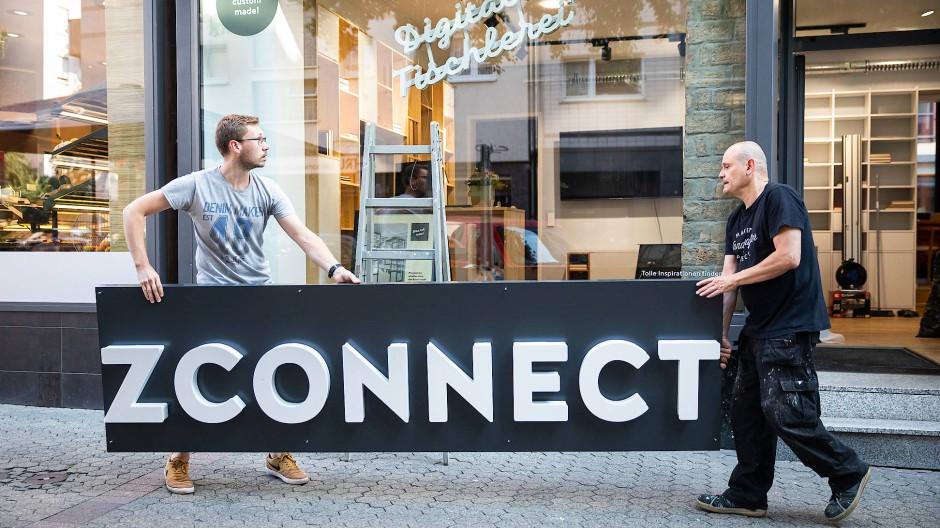 Die Neuen: Bei Holzconnection an der Berger Straße war in dieser Woche einiges zu tun.