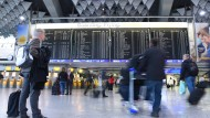 Verdi kündigt Warnstreiks im öffentlichen Dienst an: Wie viele Flugausfälle es am Frankfurter Flughafen gibt, ist zurzeit schwer abzuschätzen.