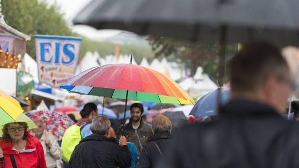 Der Regen verdirbt Bilanz und Laune