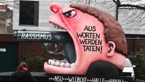 """""""Uns Hätz schleiht för Hanau"""""""