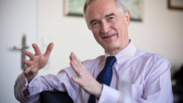 Michael zu Löwenstein - Der Frankfurter CDU-Fraktionschef spricht mit Stefan Toepfer.