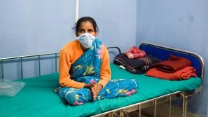 Hilfe für ein Hospiz und für Kranke im Slum