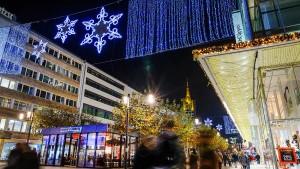 Hoffen auf Rekordumsatz im Weihnachtsgeschäft