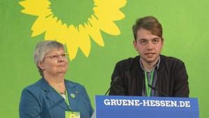 Erfurth und Krämer führen die hessischen Grünen