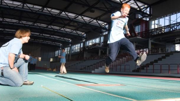 Der Sprung in eine andere Sportwelt
