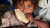 Weniger als  800 Millionen Menschen hungern