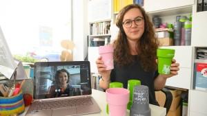 Frankfurt setzt auf Mehrweg-Kaffeebecher