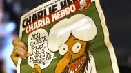 Charia-Hebdo: Das Museum Caricatura in Frankfurt besitzt alle Ausgaben des Satire-Magazins, auch jene mit den Mohammed-Karikaturen.