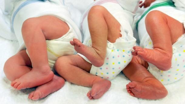 Neugeborene in Sprache der Statistiker