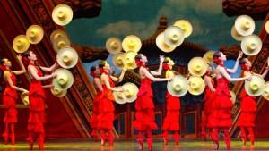 Die Tänzerin auf dem Kopf