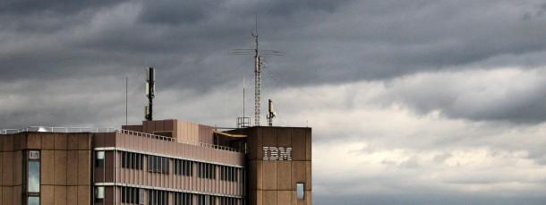 Schlechtwetterlage: Die IBM-Dependance in Mainz soll geschlossen werden.