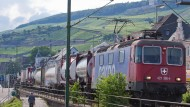 Lauter Güterzüge: Im Mittelrheintal fahren die Züge Tag und Nacht